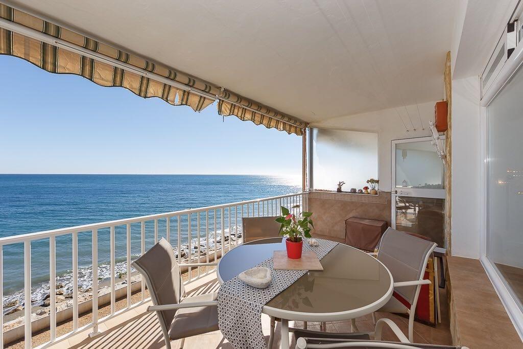 Espectacular apartamento en 1ª Línea de playa