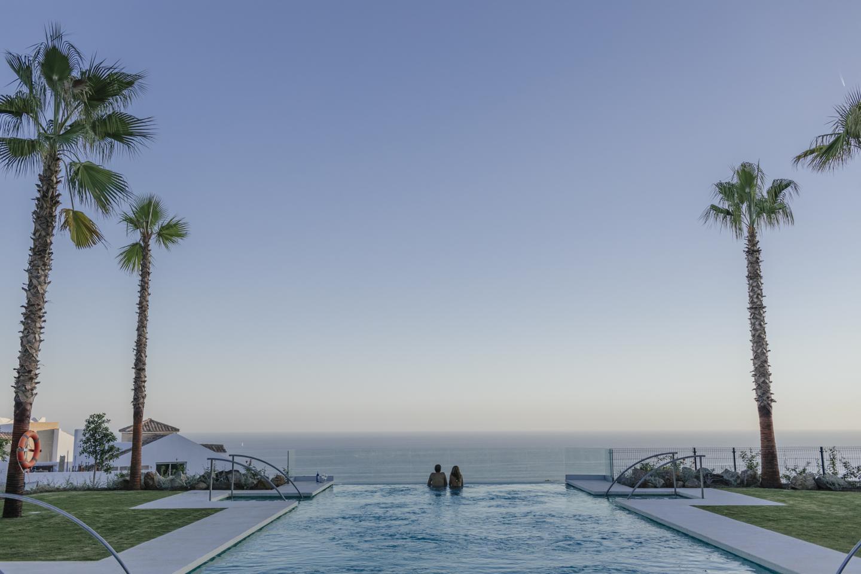 Villas a estrenar con vistas al mar en Benalmádena!